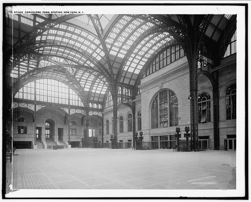 Penn Station, sometime before 1915