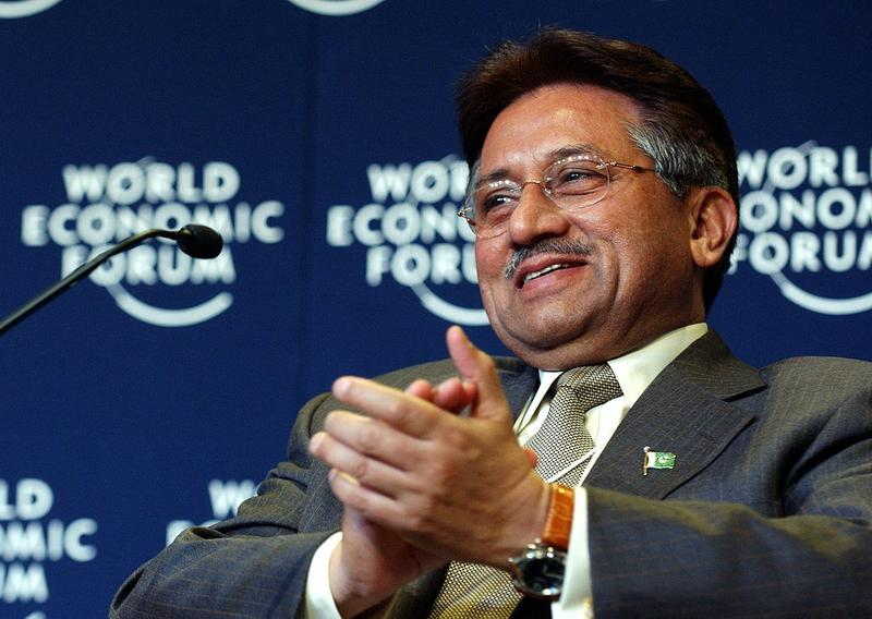 Pervez Musharraf, former President of Pakistan, at the 2004 Annual Meeting of the World Economic Forum.