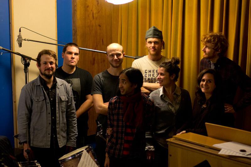 Left-Right: Peter Kerlin, Mike Pride, Cesare Papetti, Bent Cordero, Sam Sowyrda, Amy Cimini, Emily Manzo, Taylor Bergren-Chrisman