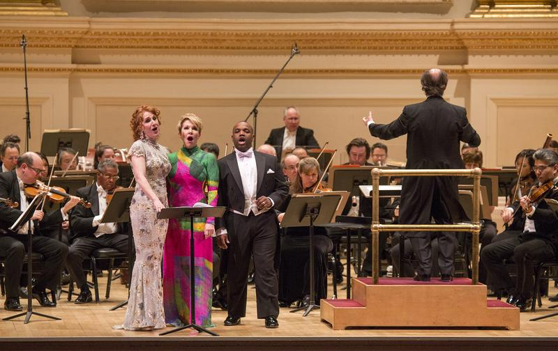 The Philadelphia Orchestra with conductor Maurizio Benini, Laura Claycomb, Joyce DiDonato and Lawrence Brownlee
