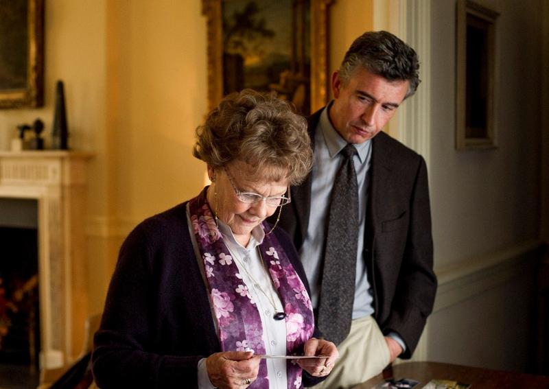 "Judi Dench and Steve Coogan star in ""Philomena."""