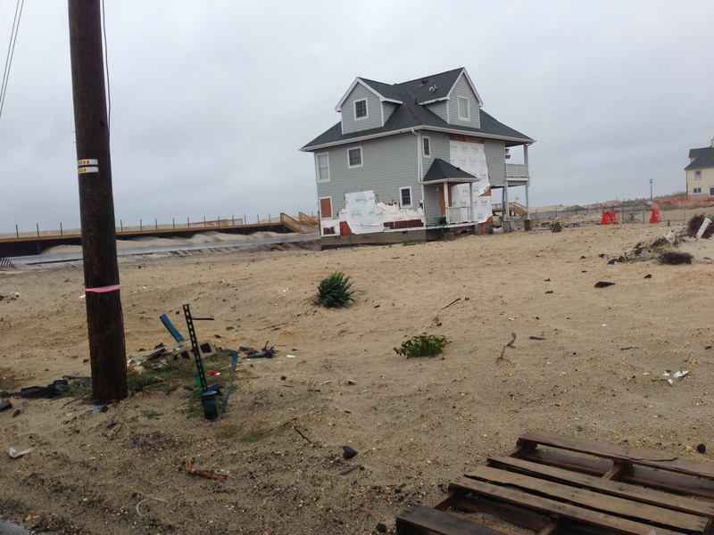 Fielder Avenue Still Bleak One Year After Sandy