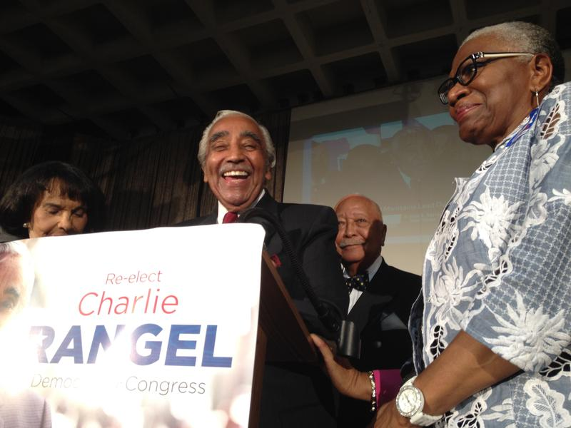 Rep. Charlie Rangel declares victory for his 23rd term