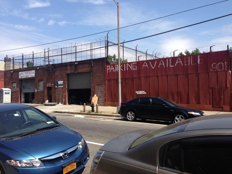 Industry-zoned section of Crown Heights