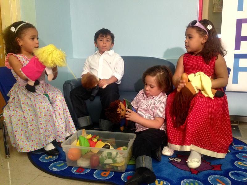 New York City quadruplets receive pre-K offer letters for P.S. 5 in Washington Heights.