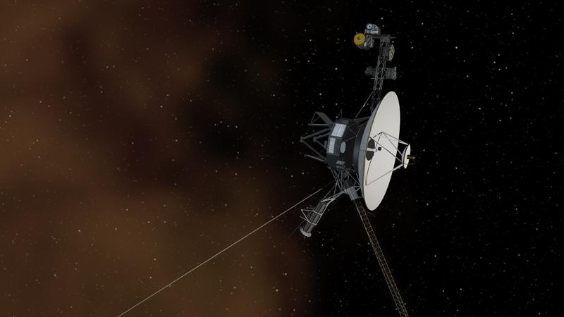 Official NASA Image: This artist's concept depicts NASA's Voyager 1 spacecraft entering interstellar space, or the space between stars.