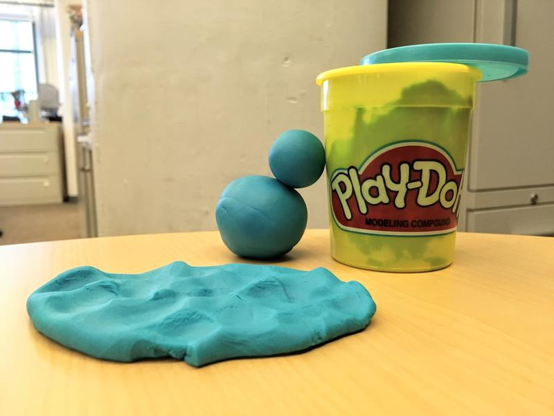 Ahh yes, that familiar, salty-sweet smell of Play-Doh...