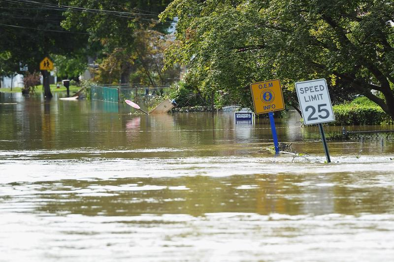 Pompton Lakes, N.J. floods frequently, as it did during Hurricane Irene in 2011, above. One home there has received more than $650,000 for 20 distinct flooding incidents.