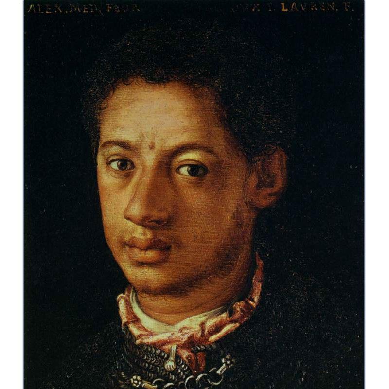Artist's rendering of Alessandro de' Medici.