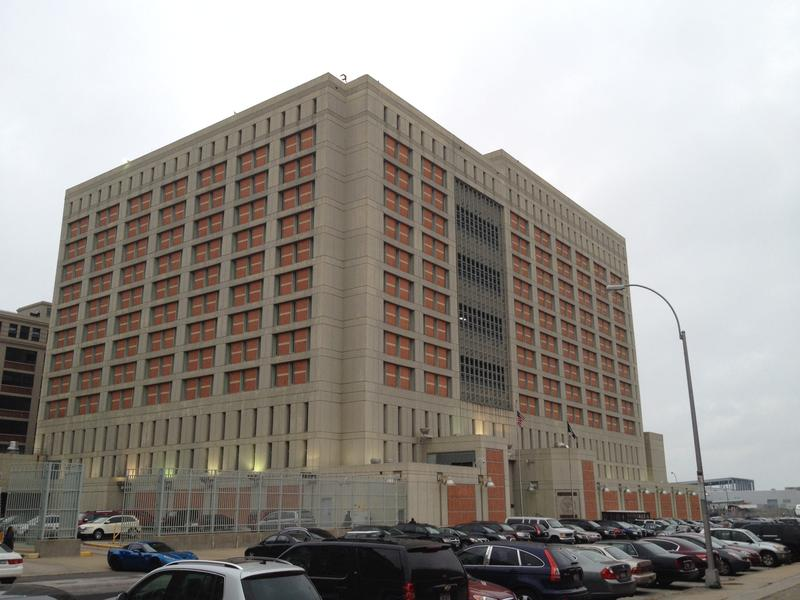 The Metropolitan Detention Center in Sunset Park, Brooklyn