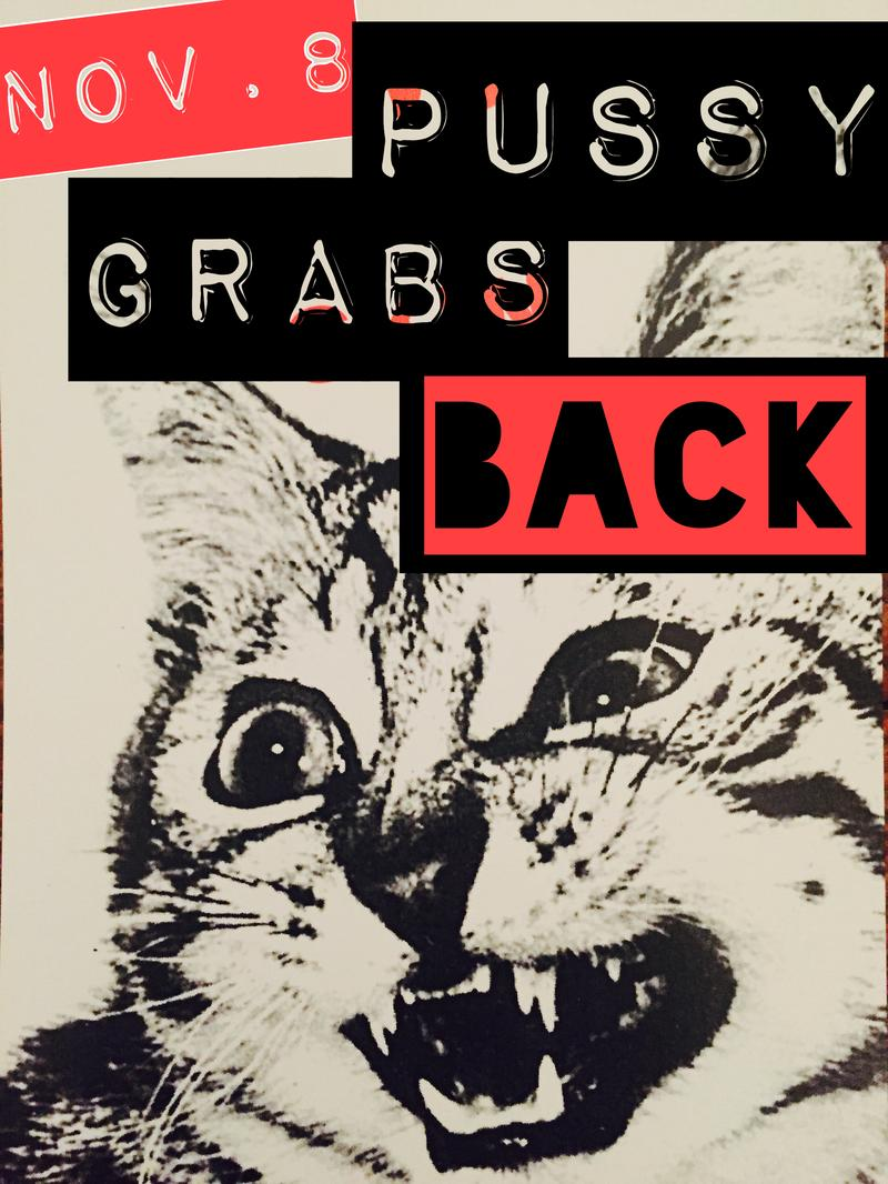 """The meme for """"Pussy Grab Back"""" is circulating the web."""