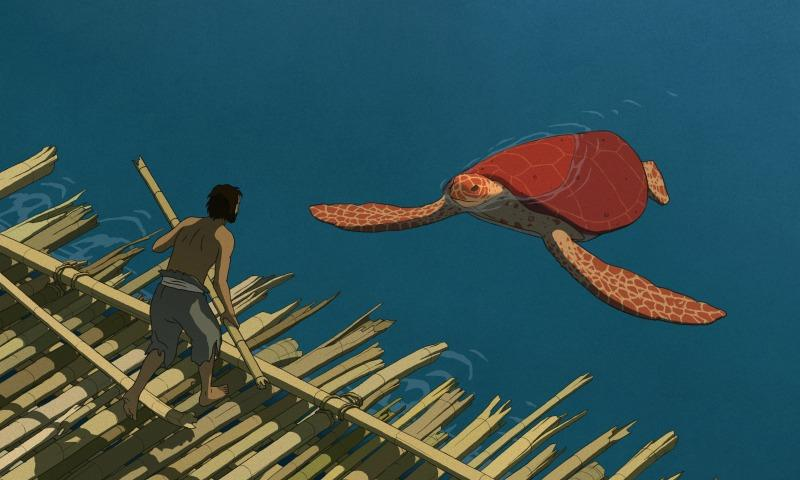 """A still from Michael Dudok de Wit's """"The Red Turtle"""""""