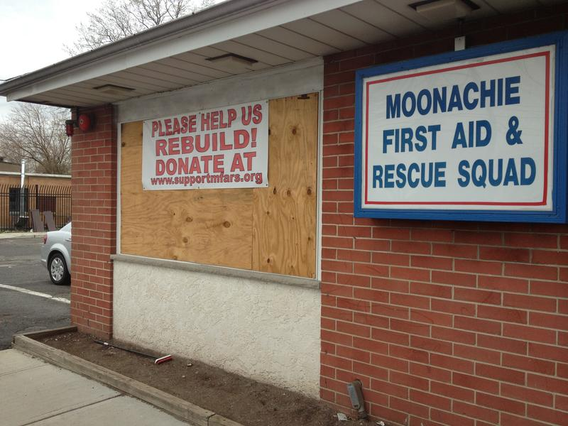 Captain Frank Smith says the Moonachie First Aid and Rescue Squad will require hundreds of thousands of dollars to repair.