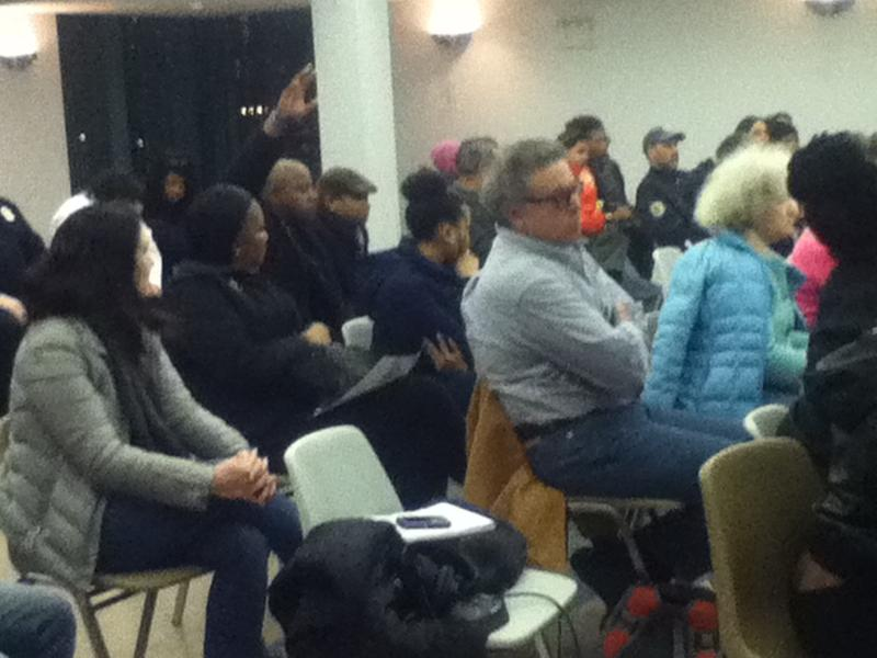 Roosevelt Island Residents At the Committee Meeting