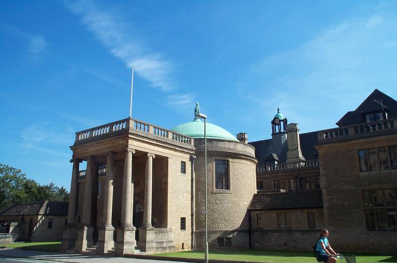 Rhodes House in Oxford, designed by Sir Herbert Baker
