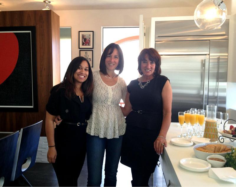 Nia Casilla, Lisa Jackson, and Barbara Ferguson