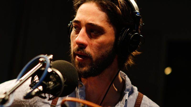 Ryan Bingham performs in the Soundcheck studio.