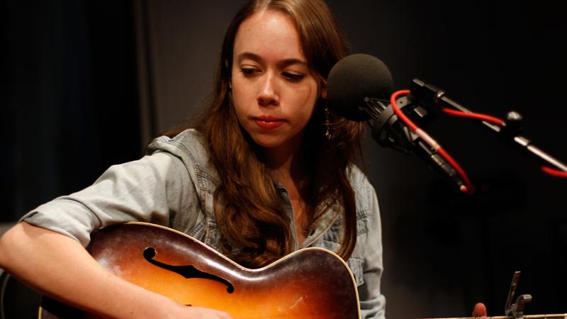 Sarah Jarosz performs in the Soundcheck studio.