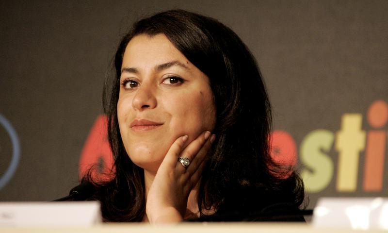 Graphic novelist and filmmaker Marjane Satrapi