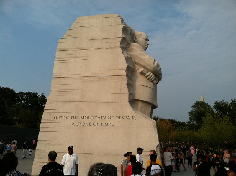The Martin Luther King Jr. Memorial in Washington.