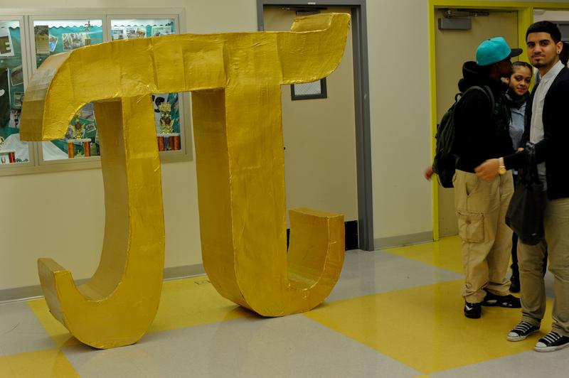 Students from The Urban Assembly School for Applied Math and Science will compete this weekend for a Pi trophy and the chance to whack a giant Pi piñata.