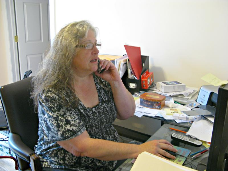 Andrea Lella takes calls from parents every morning.