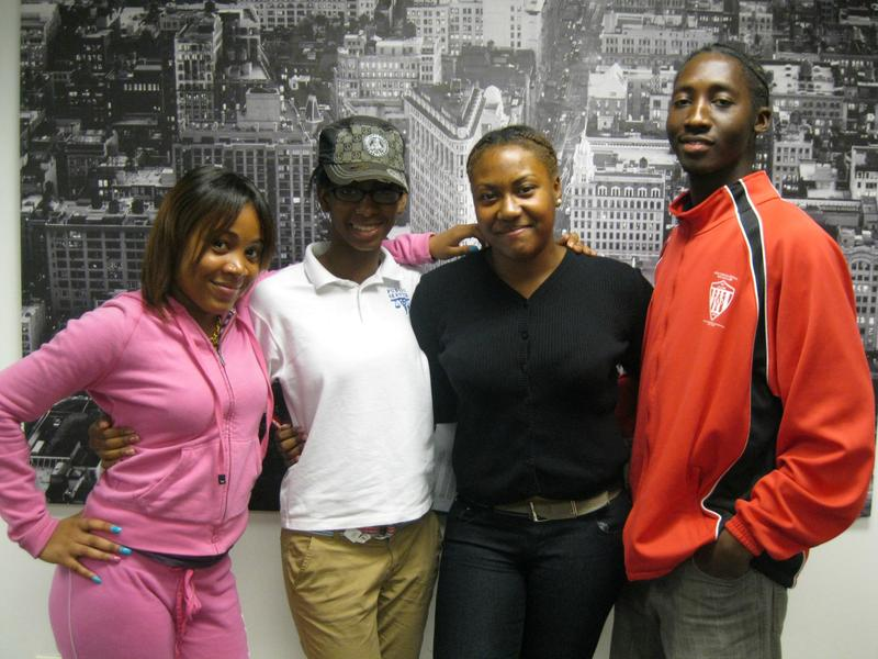 Makaida Wrong, Bianca Chapman, Tamara Enoe and Ousmane Barry have been examining education policy through a leadership program at Coro New York.