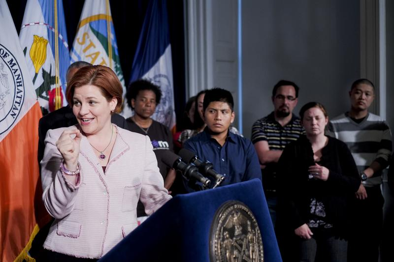 Christine Quinn, City Council Speaker and mayoral candidate, proposes changes to the city's gifted and talented admissions policy.