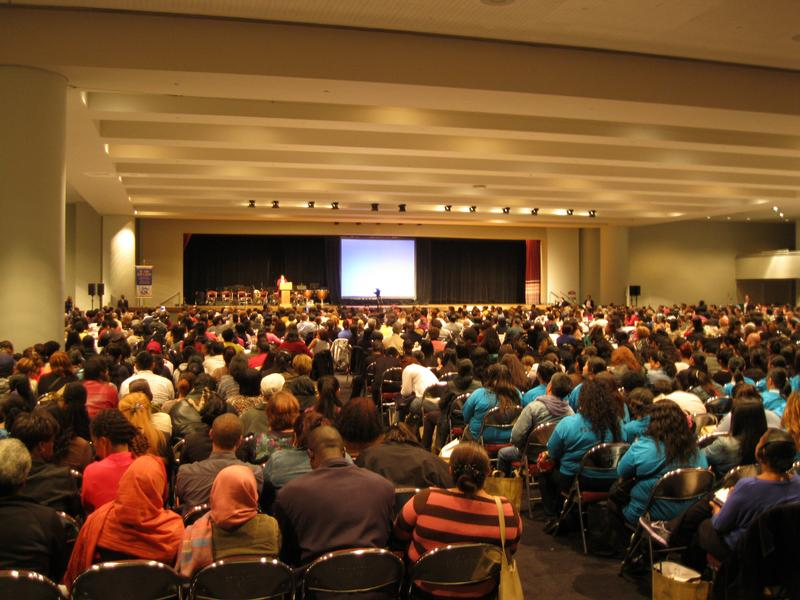Thousands of parents of English language learners attended the D.O.E.'s annual conference.