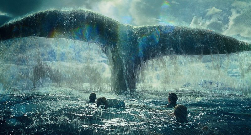 "Promotional image for the 2015 film ""In the Heart of the Sea."""