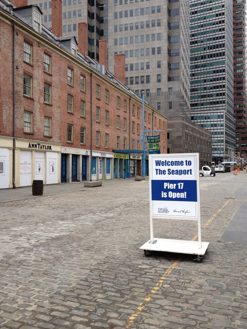 Some small businesses, like those at South Street Seaport in Manhattan, remained closed for months after Sandy.