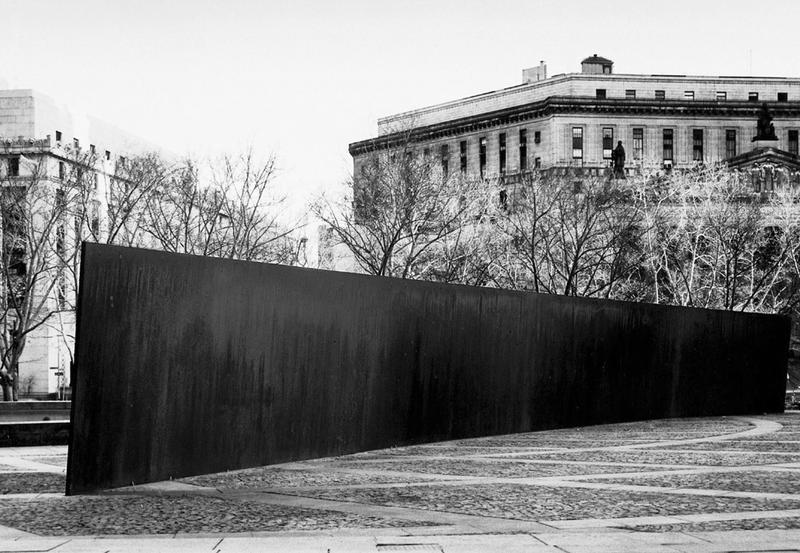 Richard Serra's Title Arc