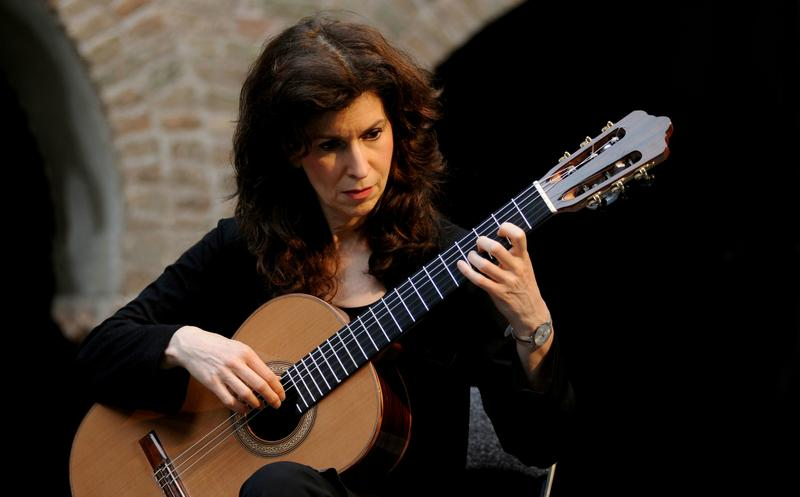 Sharon Isbin performs at the Santo Stefano Festival on June 22, 2010 in Bologna, Italy