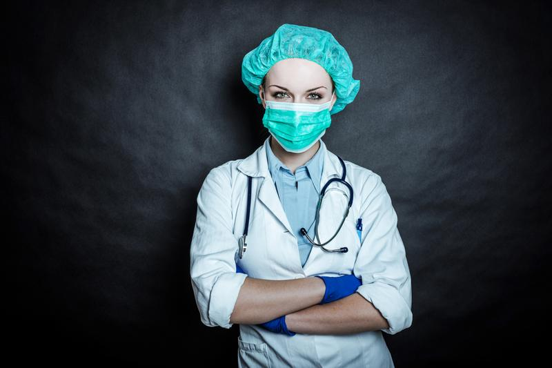 Young doctors should not worry about the future of the medical field.