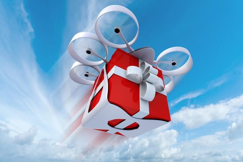 What would happen if drones replaced Santa's reindeer?