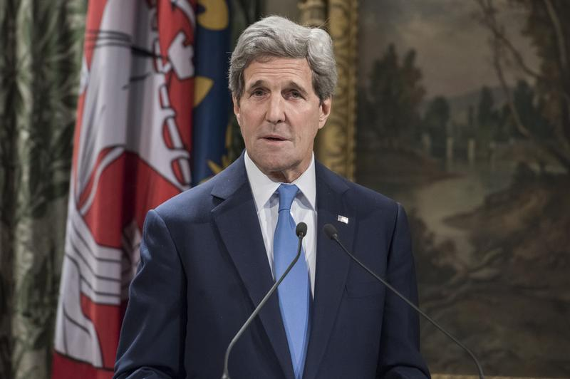 Secretary of State John Kerry in Paris, France, on January 16, 2015.