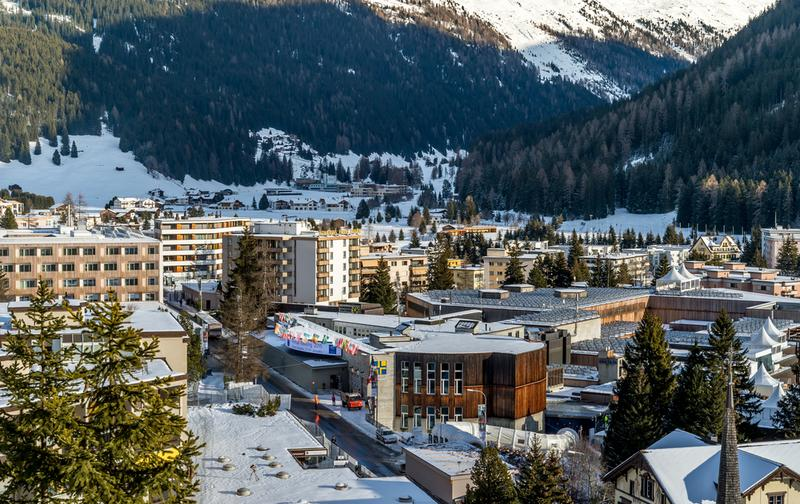 Who's got time to schuss? It's Davos! Time for the World Economic Forum and meetings (and parties)!