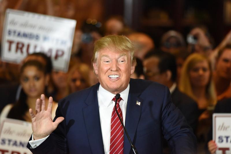 Donald Trump in New York City, September 5, 2015