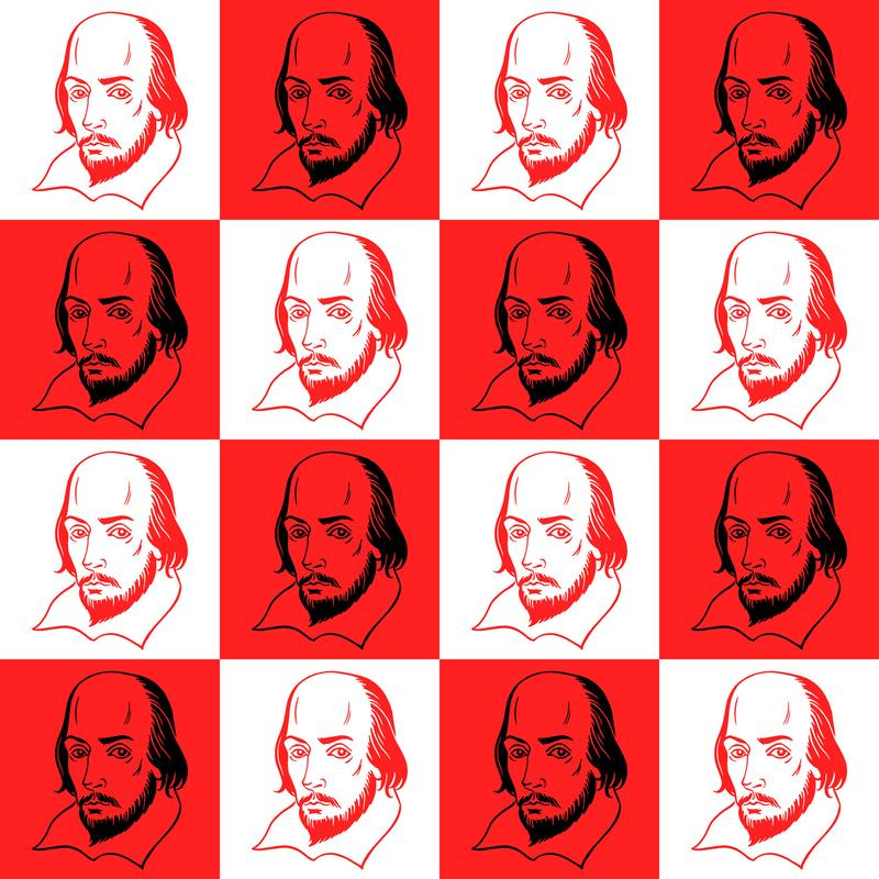 Shakespeare portrait.