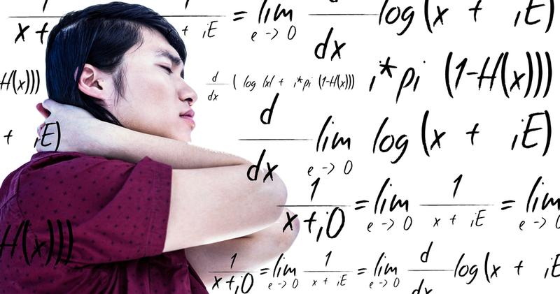 New research theorizes that a brain disorder might be responsible for some people's inability to learn and perform math.