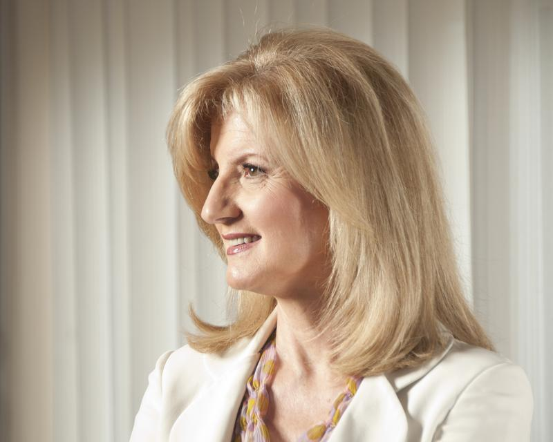 Arianna Huffington, President and Editor-in-Chief of the AOL Huffington Post Media Group, poses for a portrait at the National Press Club, July 15, 2011 in Washington, D.C.