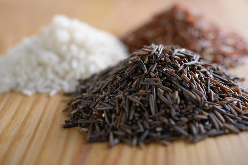 There are dozens of varieties of rice, which is a staple of cuisine around the world.