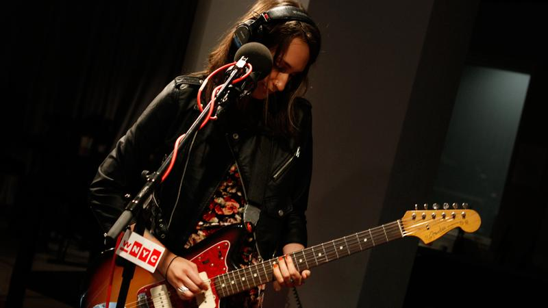 Speedy Ortiz performs in the Soundcheck studio.