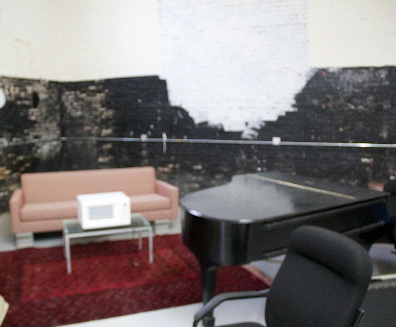 The interior of New Amsterdam Records's Red Hook offices