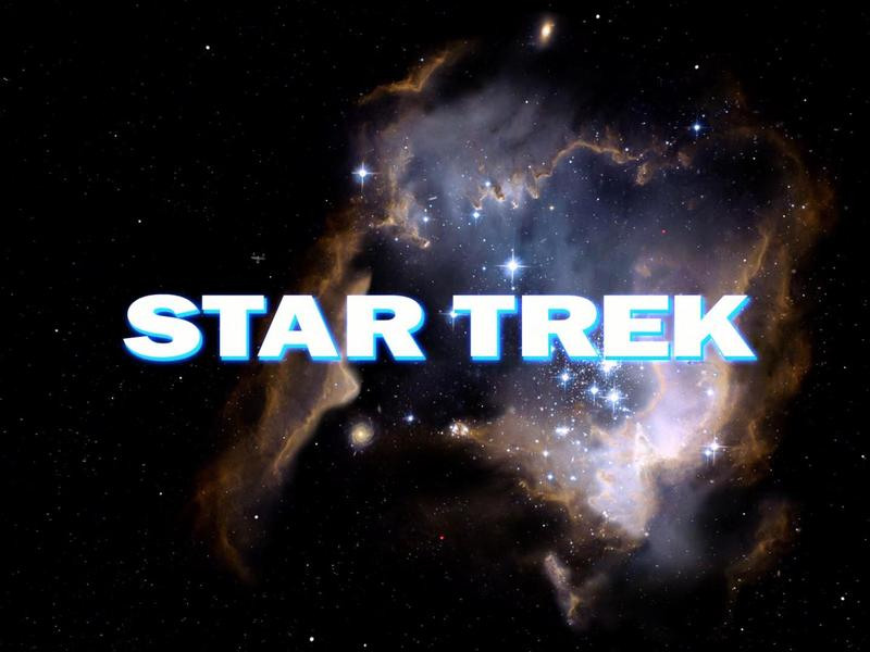 Opening credit for STAR TREK: The Original Series episode, 'The Cage.'