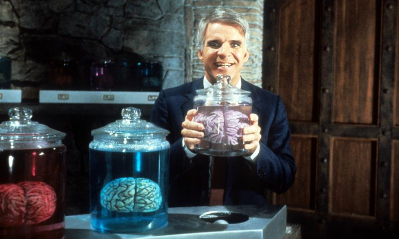 """Steve Martin in """"The Man With Two Brains,"""" 1983"""
