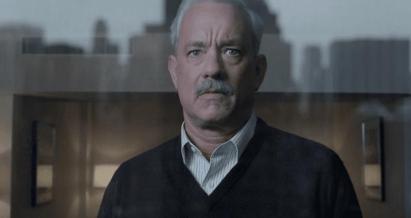 """Tom Hanks in the 2016 film """"Sully."""""""