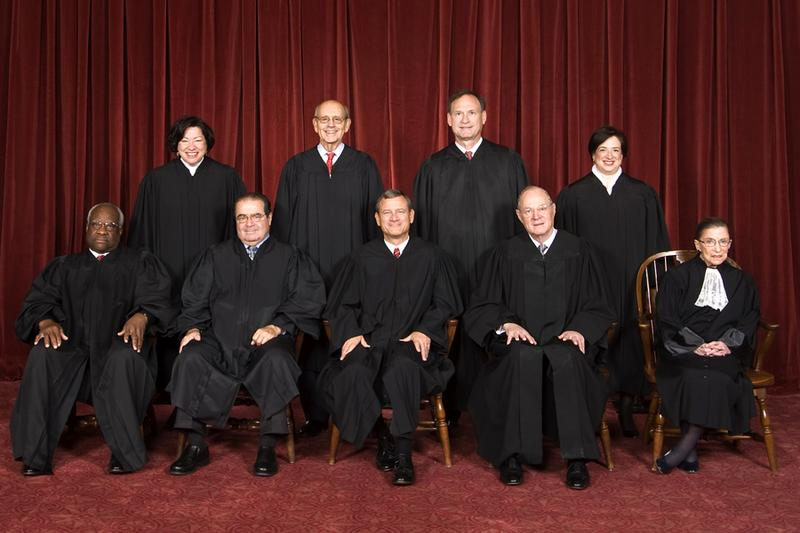 The United States Supreme Court in 2010.
