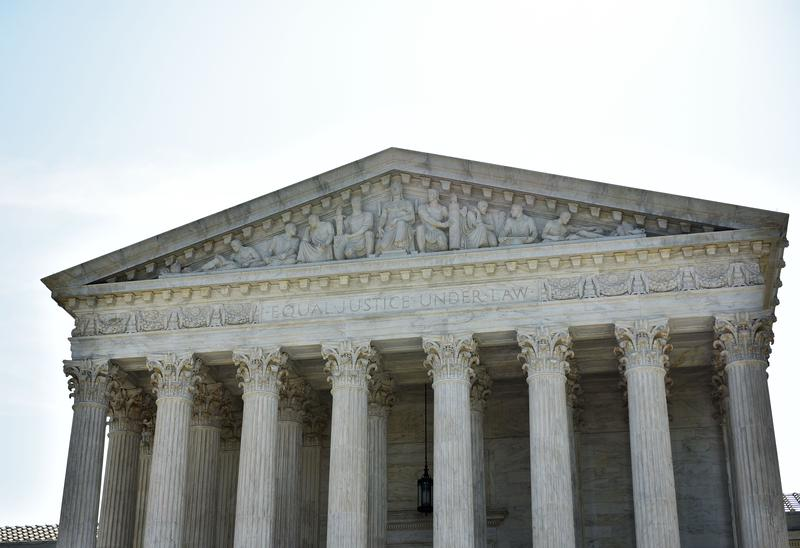 The US Supreme Court is seen on June 27, 2016 in Washington, DC.
