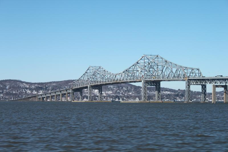 The existing Tappan Zee Bridge